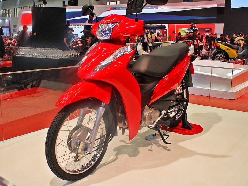 Parcela da Honda Biz 125