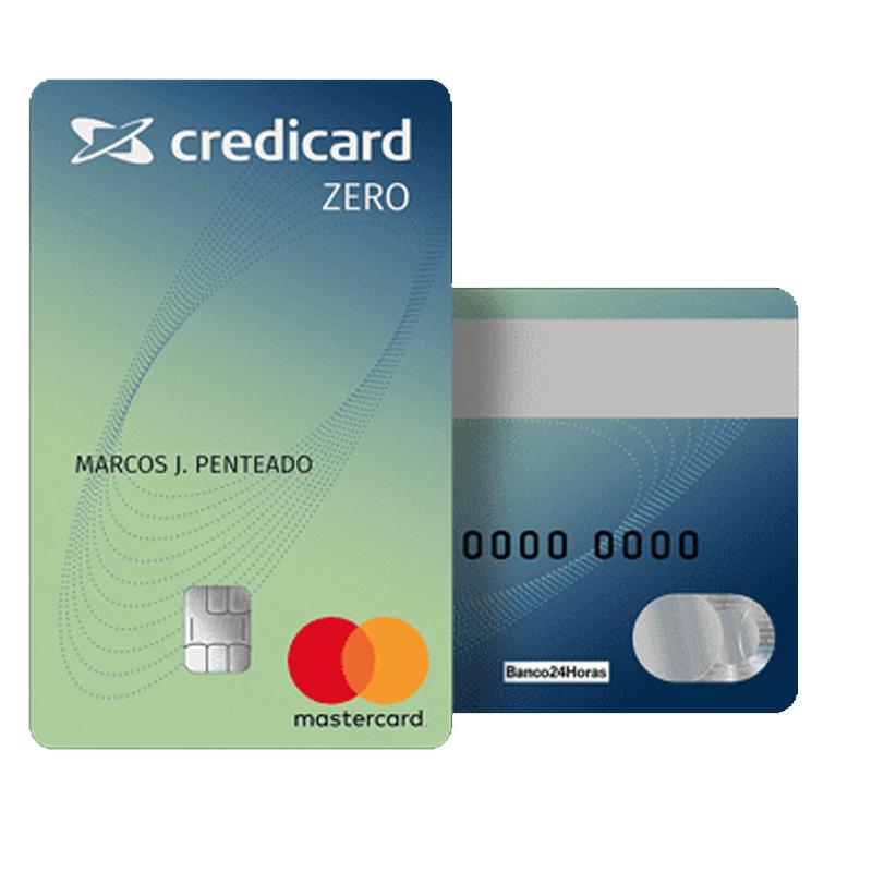 Descubra como ter o cartão Credicard Zero sem anuidade