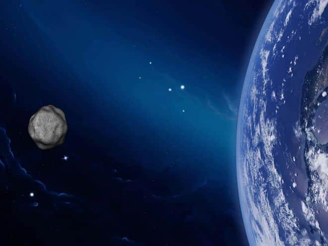 Asteroide passa a 42 mil km da Terra e com velocidade de 78 mil km/h