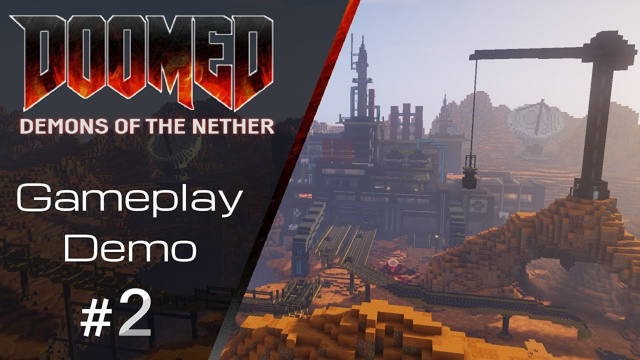 Gameplay Demo #2 - DOOMED: Demons of the Nether | Minecraft Map - YouTube