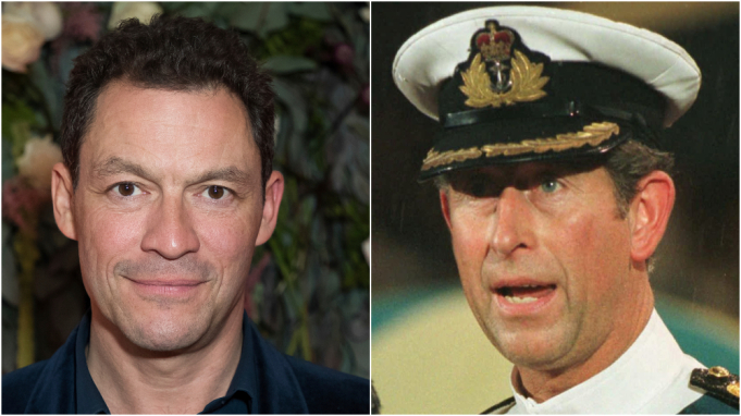 Dominic West cast as Prince Charles