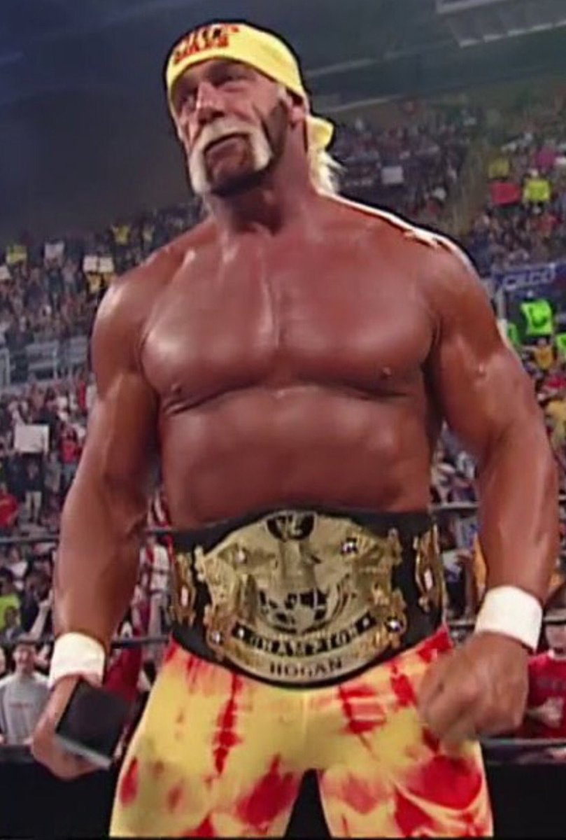 "Hulk Hogan on Twitter: ""17yrs ago today. Seems like yesterday I was crowned  the first #WWE CHAMPION brother HH… """