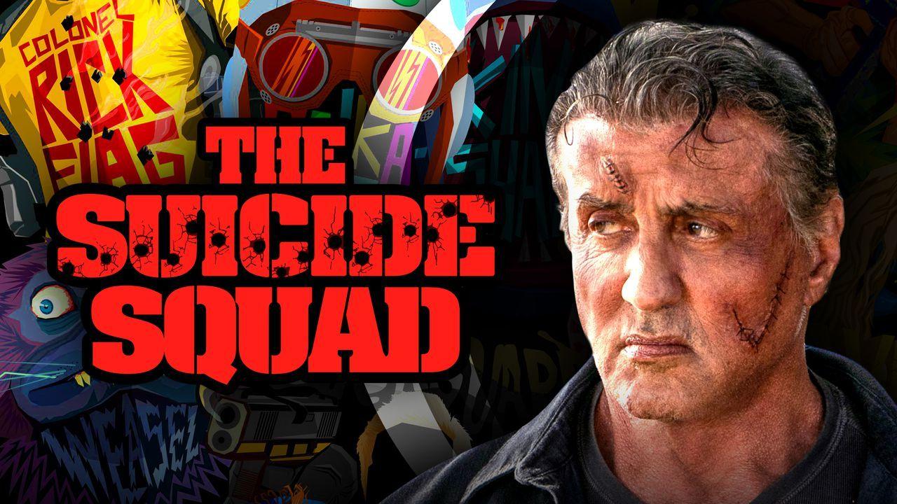 Sylvester Stallone está no elenco de O Esquadrão Suicida - Manual dos Games