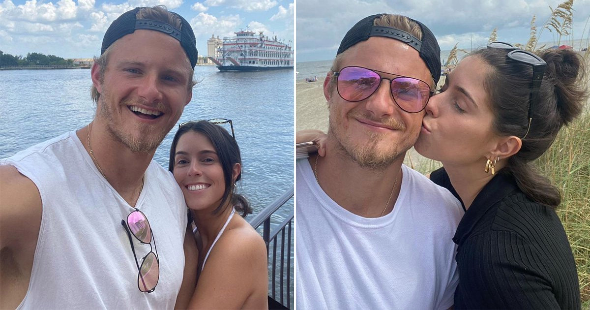 Vikings' Alexander Ludwig 'confirms' new relationship after dating co-star  | Metro News
