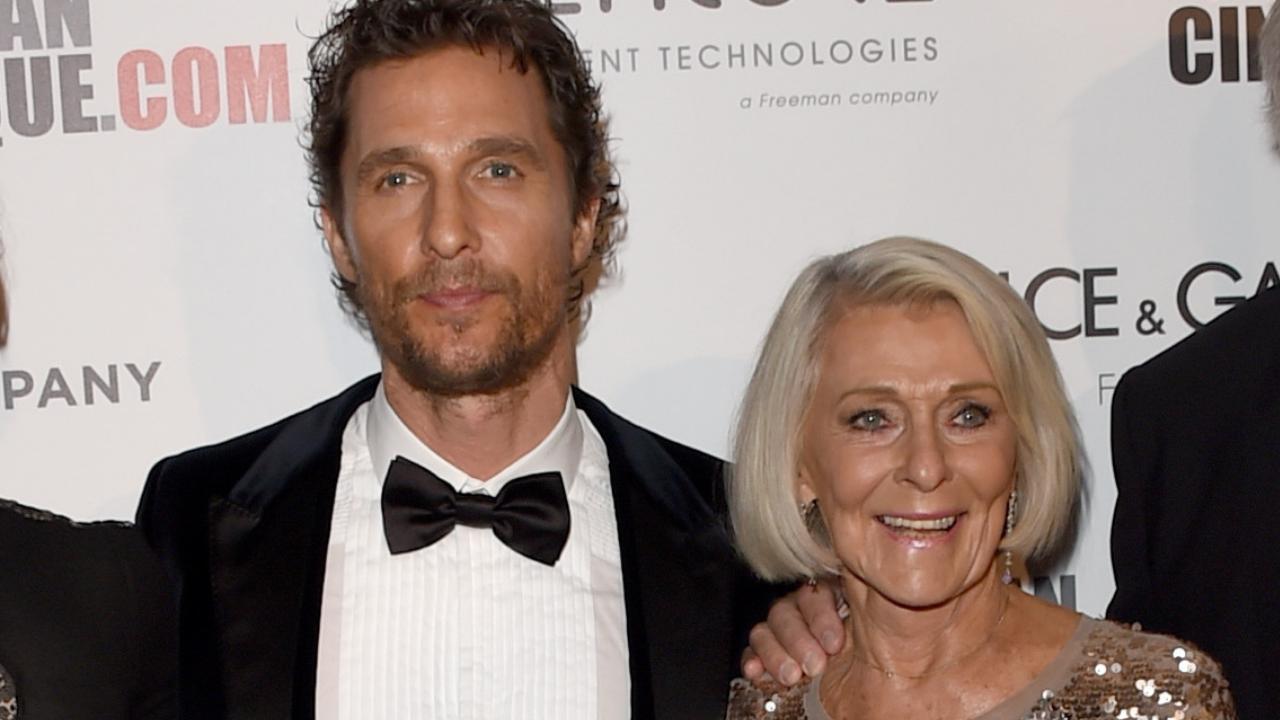 Matthew McConaughey revela situação constrangedora que o fez se afastar da  mãe por oito anos | Hugo Gloss