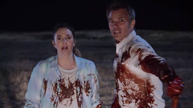 Joel e Sheila Hammond.  Crédito: Netflix