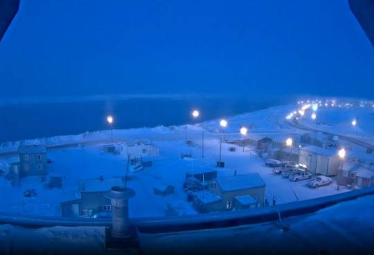 O sol se põe pela última vez em 2020 na cidade do Alasca