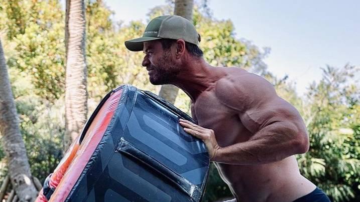 Hulk Hogan acredita que Chris Hemsworth está pronto para interpretá-lo em um filme biográfico