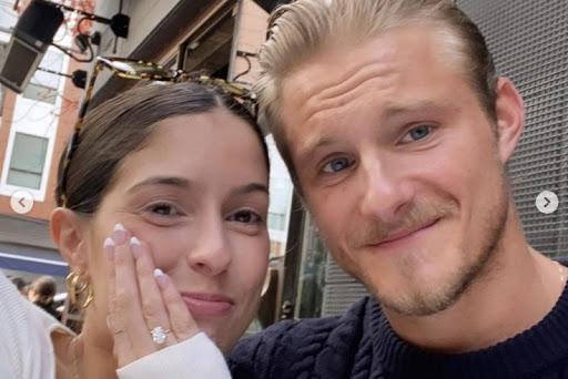 Look: Alexander Ludwig engaged to Lauren Dear