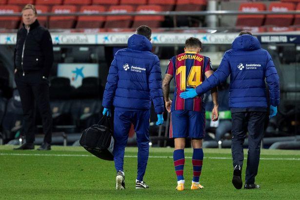Lesão de Philippe Coutinho pode levar o Liverpool a perder £ 18 milhões extras