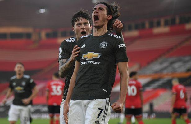 Manchester United vai entregar prorrogação de contrato de Edinson Cavani