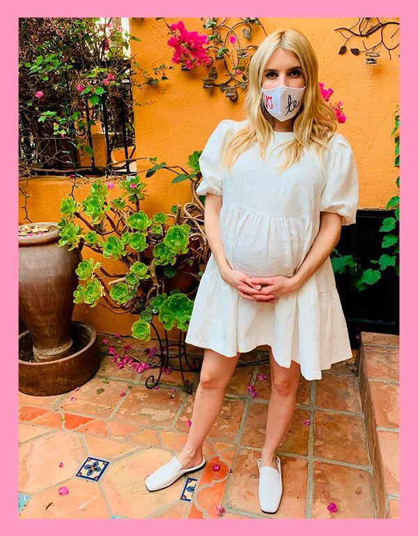 Emma Roberts dá as boas-vindas ao primeiro filho com Garrett Hedlund