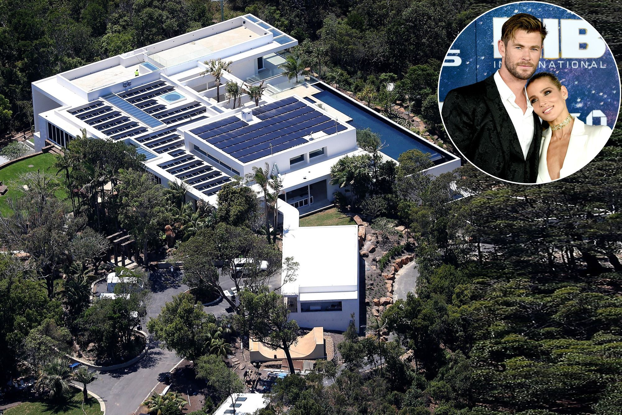 Inside Chris Hemsworth and Elsa Pataky's Australian mega-mansion