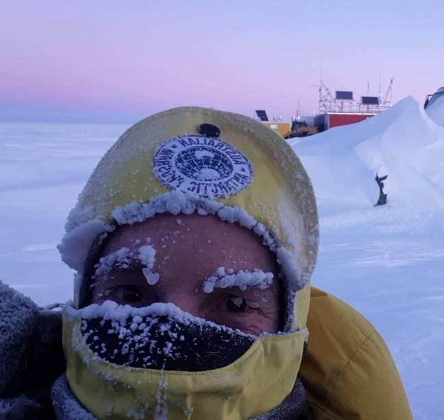 Crédito: Simon Goninon / Divisão Antártica Australiana