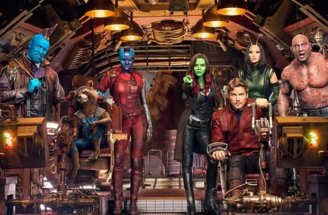 Bautista disse que a terceira parcela de Guardians of The Galaxy começará a ser filmada no próximo ano.  Crédito: Marvel