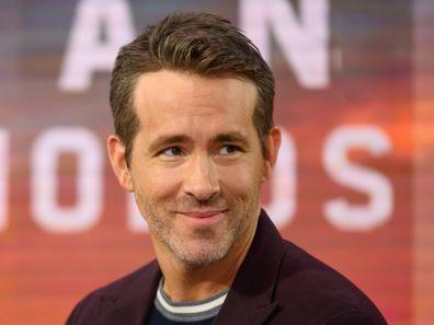 Ryan Reynolds, US Today Show, entrevista, no set