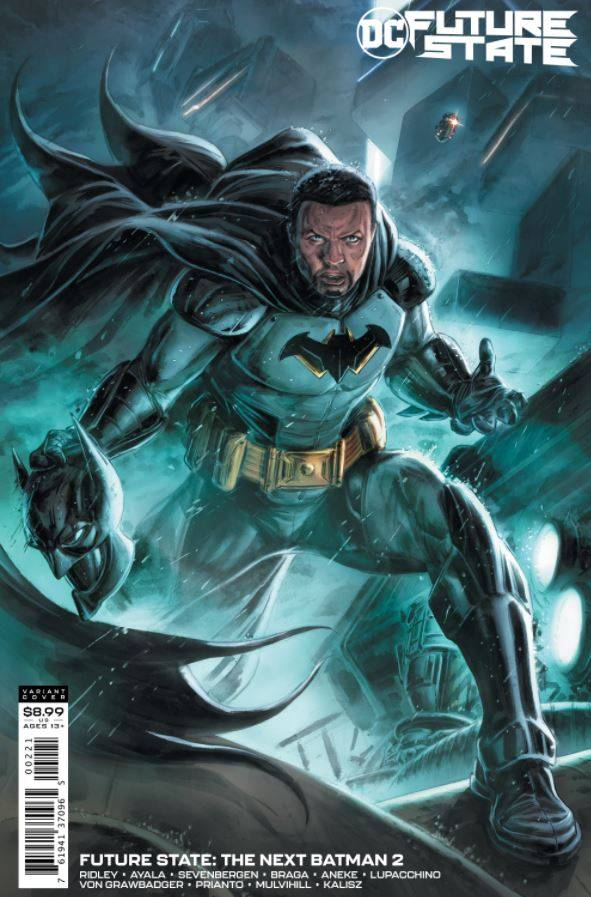 A nova série verá Batman interpretado por Tim Fox.  Crédito: DC Comics