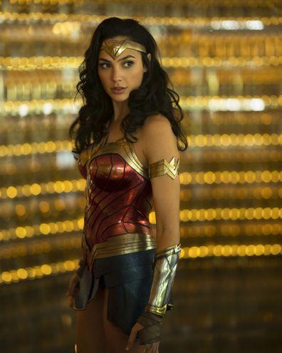 Gal Gadot in Wonder Woman 1984.