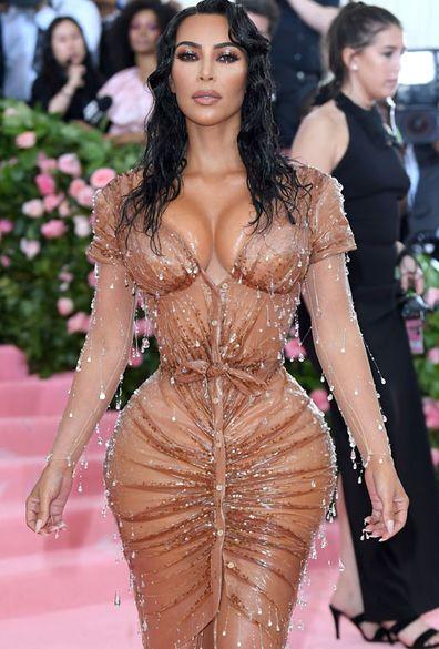 Kim Kardashian West chega para o Met Gala 2019 celebrando o acampamento: Notas sobre a moda no Metropolitan Museum of Art em 6 de maio de 2019 na cidade de Nova York