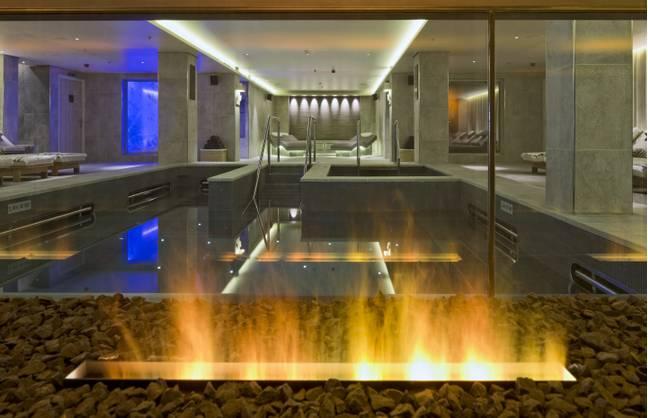 Também há um spa.  Crédito: Cruzeiros Viking
