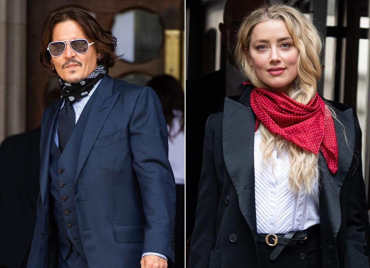 Amber Heard admite que bateu primeiro em Johnny Depp em nova gravação -  Quem | QUEM News