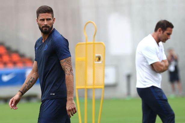 Olivier Giroud apresenta desejo de Frank Lampard em meio a incertezas quanto ao técnico do Chelsea