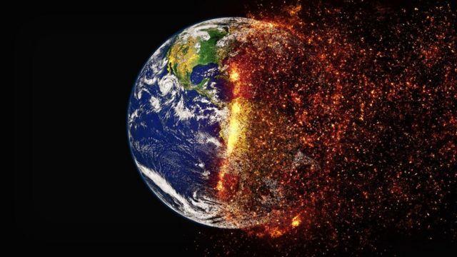 Greta Thunberg pede ação após a NASA declarar o ano mais quente da história em 2020