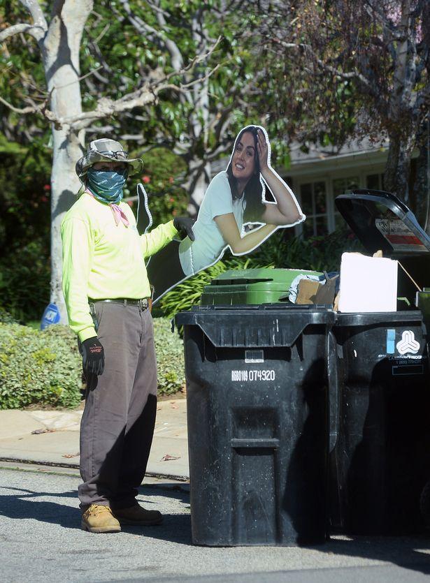 Recorte de papelão Ana de Armas em tamanho real é jogado no lixo na casa de Ben Affleck