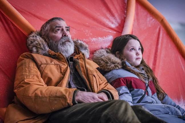 'The Midnight Sky' prestes a ser um dos filmes mais assistidos da Netflix